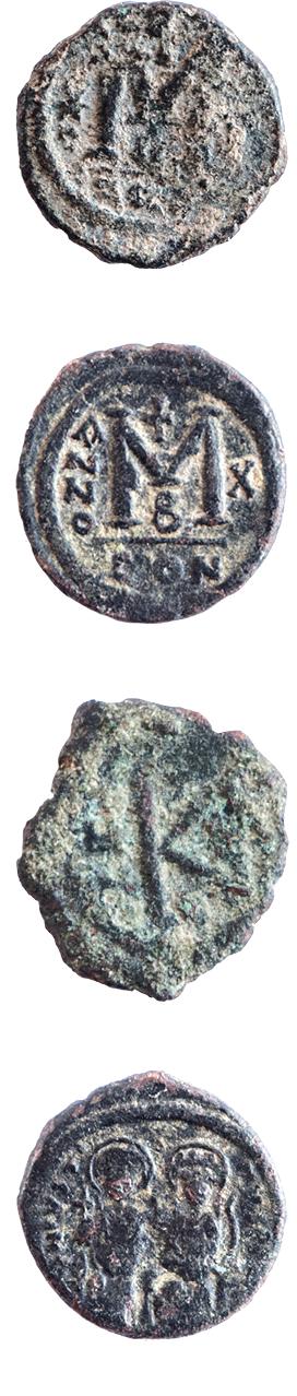 מטבעות מהתקופה הביזנטית